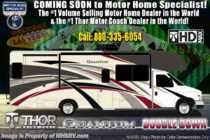 2020 Thor Motor Coach Quantum WS31 Class C RVW/ Theater Seats, 2 A/Cs, Nav, Res Fridge