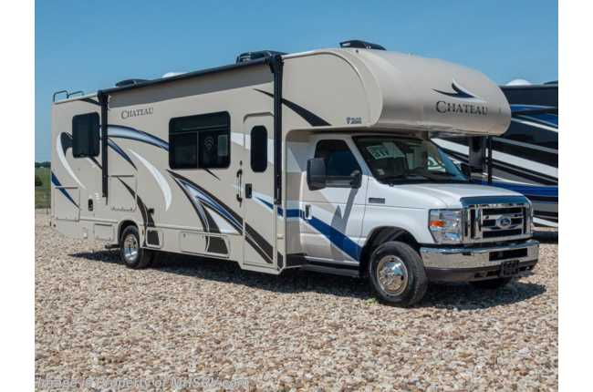 2020 Thor Motor Coach Chateau 31Y RV for Sale W/ 2 A/Cs, Jacks, Ext TV
