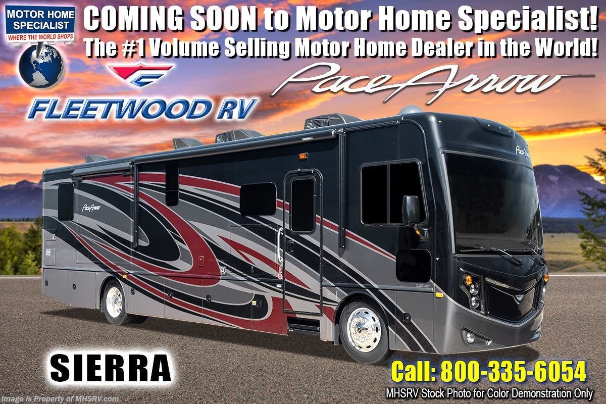 New 2019 Fleetwood Pace Arrow 35qs Diesel Pusher Rv W Theater Seats Excursion Wiring Diagram For Electrical Tech Pkg