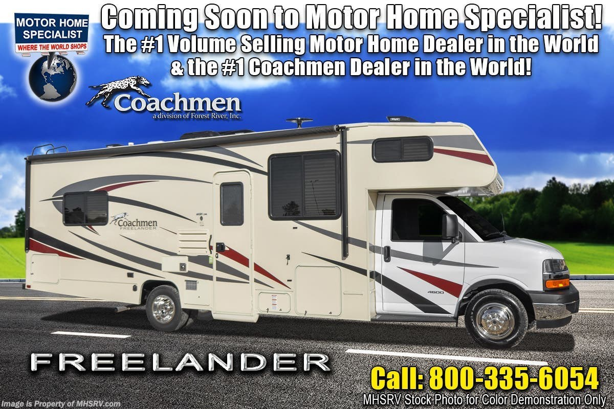 New 2019 Coachmen Freelander 32DS RV W/ Dual Recliners, Stabilizers, Car  Play