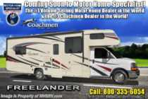 2019 Coachmen Freelander  32DS RV W/ Stabilizers, Car Play & 15K A/C