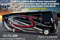 2019 Thor Motor Coach Outlaw 38MB Toy Hauler RV W/3 Season Wall & Garage Sofas