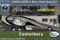 2019 Forest River Berkshire XLT 45B Bath & 1/2 RV W/ Tiled Shower, Theater Seats