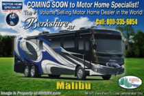 2019 Forest River Berkshire XLT 45A 2 Full Bath W/ Bunks, Tiled Showers, Sat, W/D