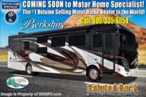 2019 Forest River Berkshire 39A Bath & 1/2 Diesel Pusher RV W/Theater Seats