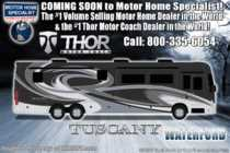 2019 Thor Motor Coach Tuscany 45JA W/Theater Seats, 450HP, Tag Axle, IFS, Stack