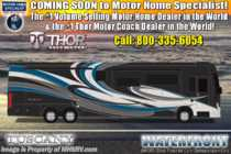 2020 Thor Motor Coach Tuscany 45JA W/Theater Seats, 450HP, Tag Axle, IFS, Stack