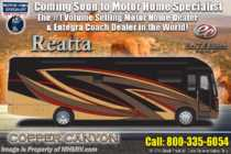 2019 Entegra Coach Reatta 39BH Bath & 1/2 Bunk Model W/ Theater Seats