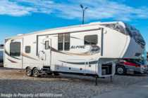2012 Keystone Alpine 3700RE 5th Wheel RV for Sale W/ Theater Seats