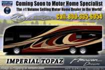 2019 American Coach American Dream 42Q Bath & 1/2 Luxury Diesel RV W/ Theater Seats