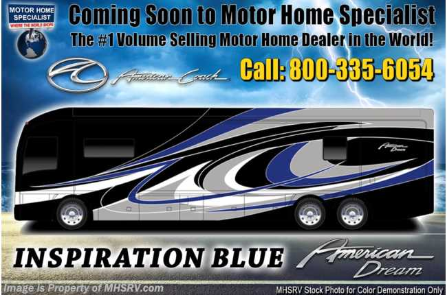 New 2019 American Coach American Dream
