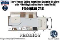 2019 Holiday Rambler Prodigy 24B Sprinter RV W/ Dsl Gen, Stabilizers  & Ext TV