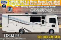 2019 Holiday Rambler Admiral 29M RV for Sale W/ 2 A/Cs, 5.5KW Gen, King