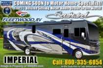 2019 Fleetwood Southwind 35K Bath & 1/2 RV W/Theater Seats, 7KW Gen, W/D