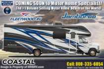 2019 Fleetwood Jamboree 30F Class C RV for Sale W/ King & Ext TV
