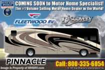 2019 Fleetwood Discovery 38N 2 Full Bath W/Bunks, Theater Seats, Tech Pkg