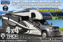 2020 Thor Motor Coach Magnitude SV34 4x4 Diesel Super C W/Mobile Eye, King, 330HP