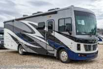 2019 Holiday Rambler Vacationer 33C W/Hide-A-Loft, Fireplace, King, Res Fridge