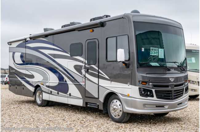 2019 Fleetwood Bounder 33C Class A RV W/ Hide-A-Loft, Res Fridge & King