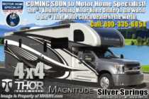 2020 Thor Motor Coach Magnitude SV34 4x4 330HP Diesel Super C W/Mobile Eye, King