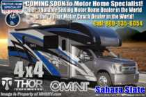 2020 Thor Motor Coach Omni SV34 4x4 330HP Diesel Super C RV W/ Mobile Eye