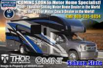 2020 Thor Motor Coach Omni BB35 Bunk Model Diesel Super C RV W/ 330HP, King