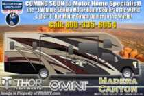 2020 Thor Motor Coach Omni BH35 Bath & 1/2 Diesel Super C W/ 330HP, King