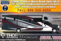 2020 Thor Motor Coach Magnitude BH35 Bath & 1/2 Diesel Super C W/Mobile Eye, King