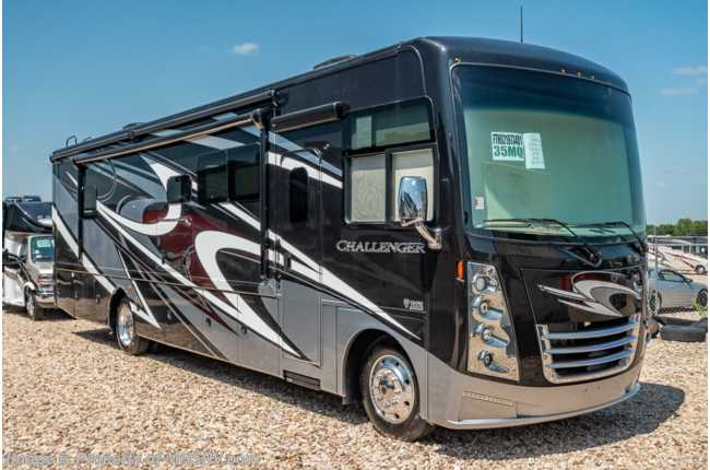 2020 Thor Motor Coach Challenger 35MQ RV for Sale at MHSRV W/ OH Loft, Theater Seats, Res Fridge