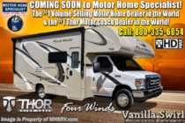 2020 Thor Motor Coach Four Winds 22E RV for Sale W/ Stabilizers, Ext TV, 15K A/C