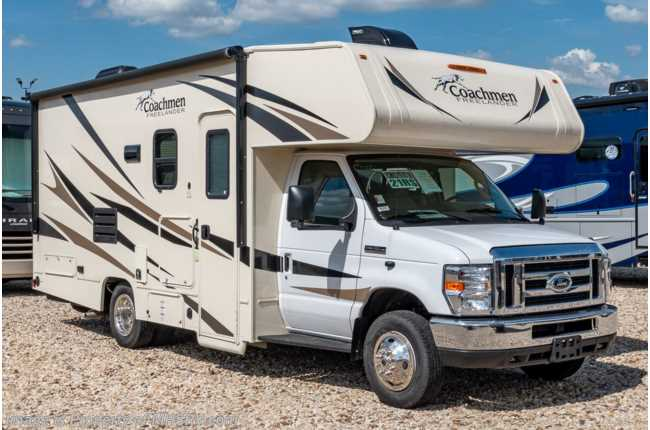 2020 Coachmen Freelander  21RS W/ 15K A/C, Stabilizers, Ext Kitchen, WiFi