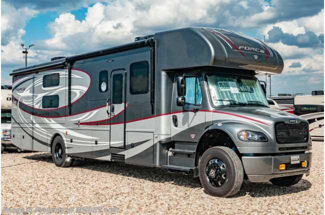 2020 Dynamax Corp Force HD 37BH Super C, Bunks, Theater Seats, Blk Out Pkg