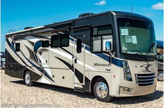 2020 Thor Motor Coach Miramar 35.2 W/Theater Seats, King Bed, Cabover Loft