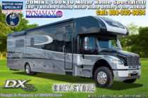 2020 Dynamax Corp DX3 34KD Super C W/Theater Seats, Cab Over Bed, Chrome