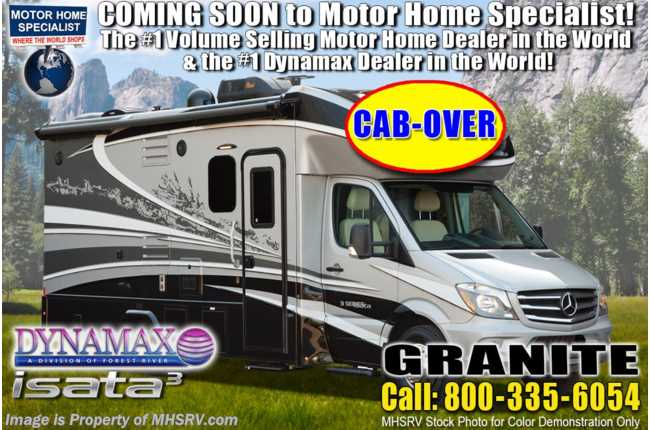 2020 Dynamax Corp Isata 3 Series 24FW Sprinter Diesel W/ Theater Seats & Cab-Over