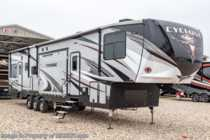 2019 Heartland  Cyclone 4270 Bath & 1/2 Bunk Model 5th Wheel W/ 5.5KW Gen