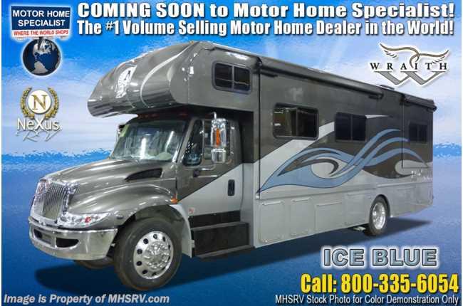 67c41175fb New 2020 Nexus Wraith 32W Super C International Diesel RV W Sat