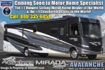 2020 Coachmen Mirada Select 37LS Bath & 1/2 RV W/Dual Pane, W/D & 2 A/Cs