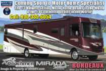 2020 Coachmen Mirada Select 37TB Bath & 1/2 W/2 A/C, Theater Seat, Salon Bunk