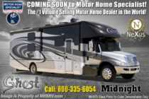 2020 Nexus Ghost 36DS Bunk Model Luxury Super C W/ Theater Seats
