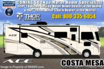 2020 Thor Motor Coach A.C.E. 32.3 Bunk Model RV W/ King, OH Loft & 2 A/Cs