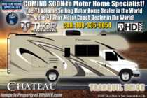 2020 Thor Motor Coach Chateau 23U RV for Sale W/ Ext TV, 15K A/C, Stabilizers