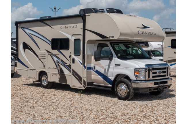 2020 Thor Motor Coach Chateau 24F RV for Sale W/15K A/C, Ext TV & Convection