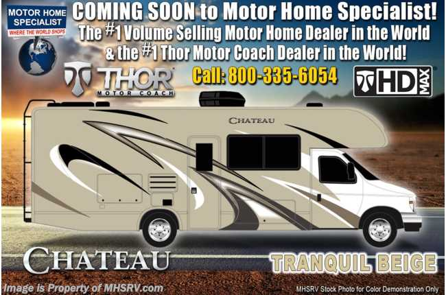 New 2020 Thor Motor Coach Chateau