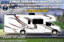 2020 Thor Motor Coach Four Winds 22EC RV for Sale W/ 15K A/C, Ext TV, Convection