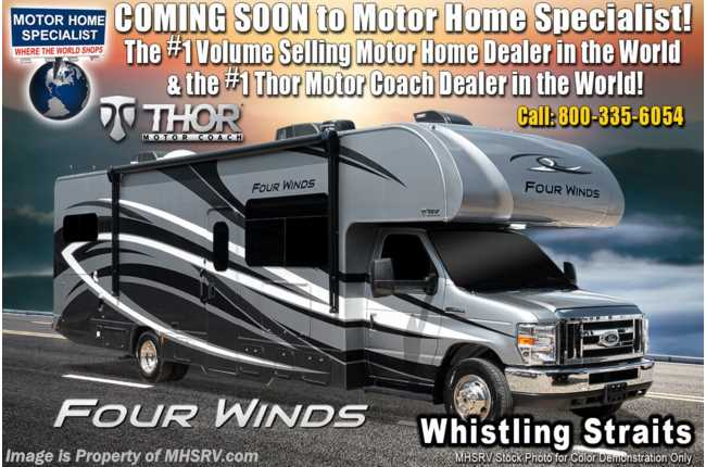 2020 Thor Motor Coach Four Winds 31W W/ 2 A/Cs, Jacks, FBP & Ext TV