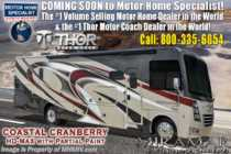 2020 Thor Motor Coach Miramar 37.1 2 Full Bath W/ Bunks, Fireplace, Ext TV