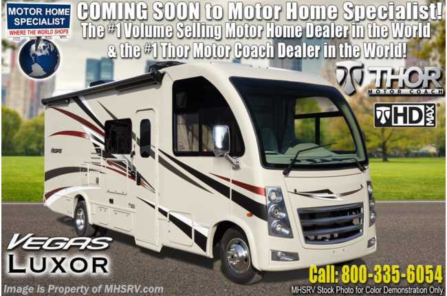 2020 Thor Motor Coach Vegas 24.1 RUV W/ Pwr Driver Seat, Stabilizers