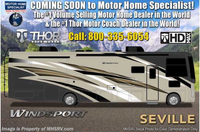New 2020 Thor Motor Coach Windsport