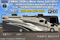2020 Thor Motor Coach Windsport 34R W/King, Theater Seats, OH Loft, Ext TV